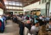 Brunch in der Turnhalle