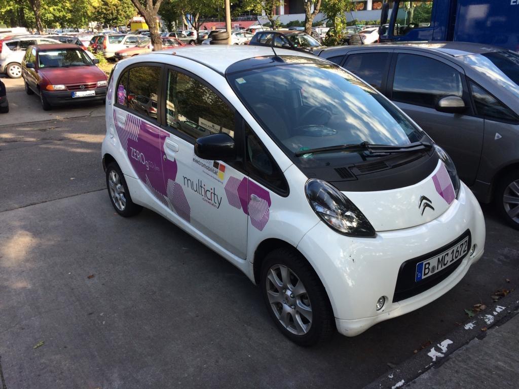 multicity carsharing berlin fahrzeug umweltbewusst elektroauto mobil 5 hauptstadt. Black Bedroom Furniture Sets. Home Design Ideas