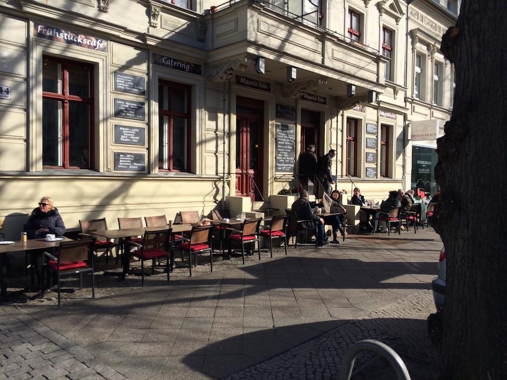 Mauna-kea, frühstück, essen, Berlin, ruhig, außenbereich