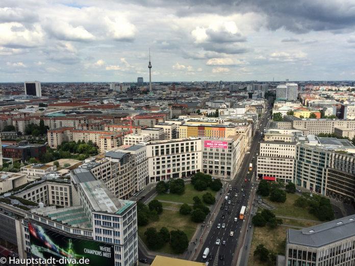 Panoramapunkt,Potsdamerplatz,Berlin,Aussicht,Kaffee,Kuchen,bitte