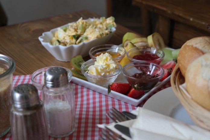 Milchmanns, café, frühstück, essen, Kaffee, prenzlauer berg, Berlin, innen, ei