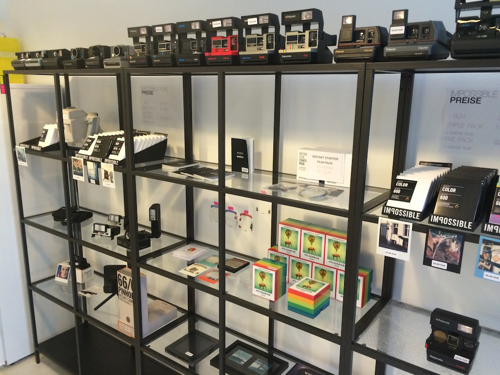 Sofortbild-Shop - Eine alte Technik und die neue…