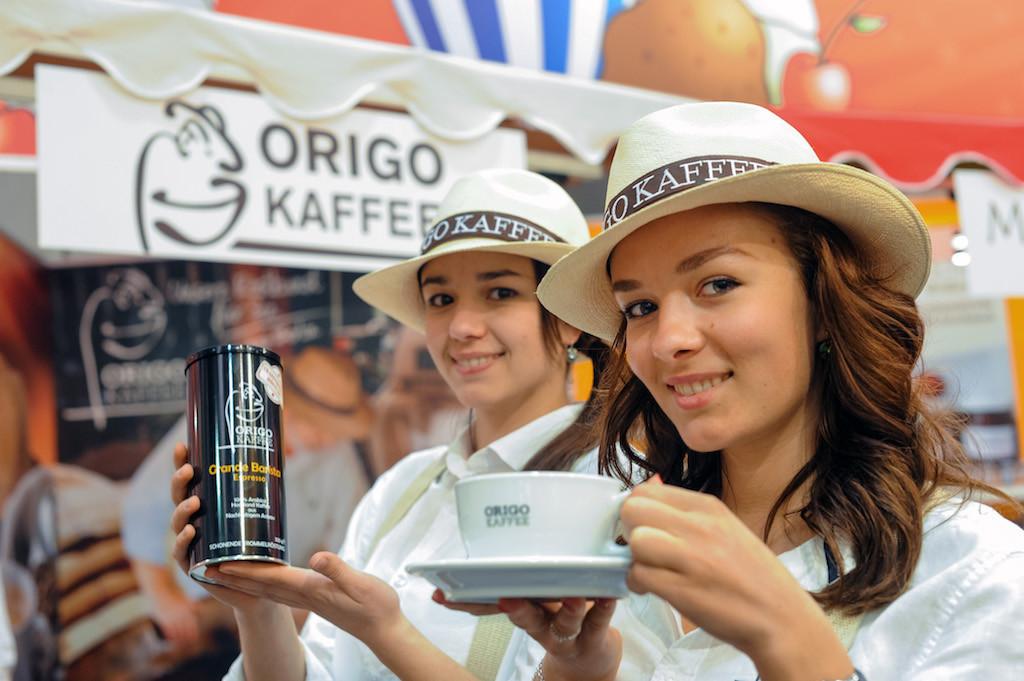 Internationale Grüne Woche 2015,  ORIGO-Kaffee Rösterei und Vertriebs GmbH - Halle 21
