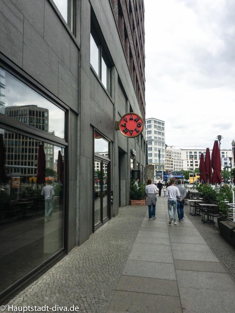 Panorama punkt, Potsdamer platz, Berlin, Aussicht, Kaffee, Kuchen, bitte 16