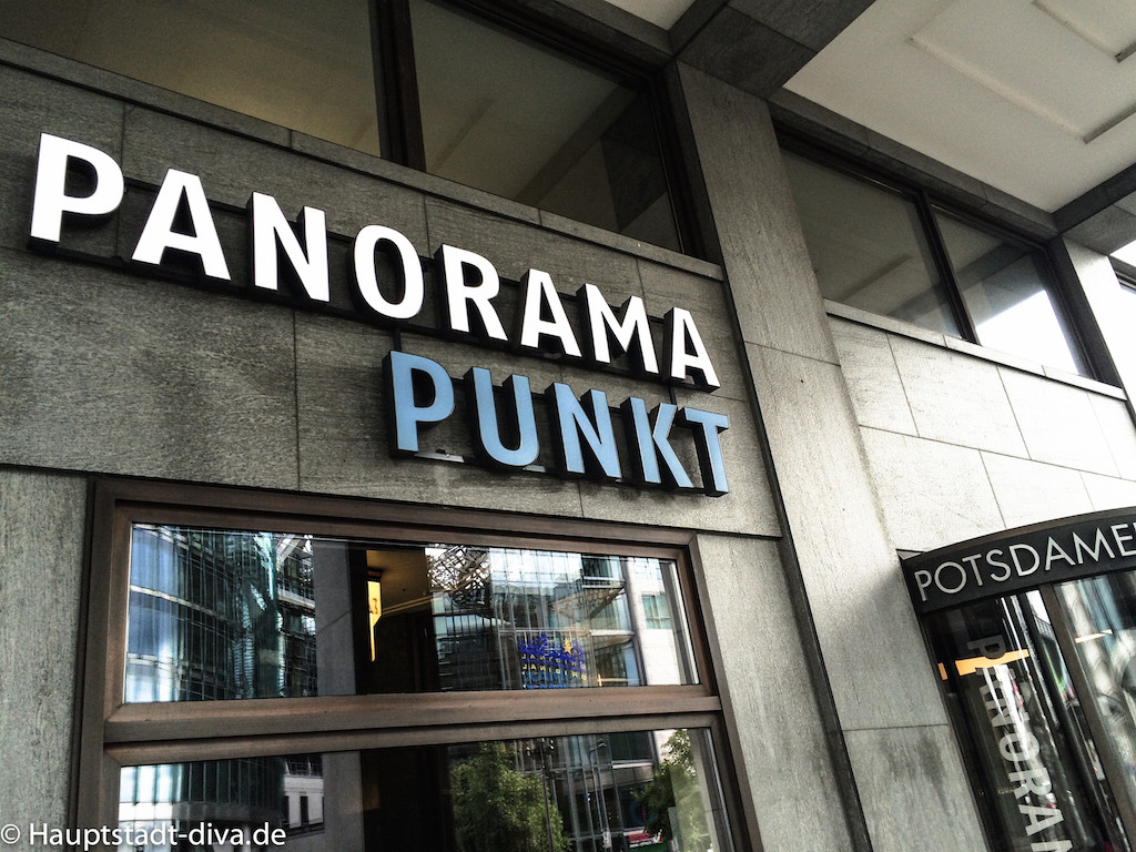 Panorama punkt, Potsdamer platz, Berlin, Aussicht, Kaffee, Kuchen, bitte 15