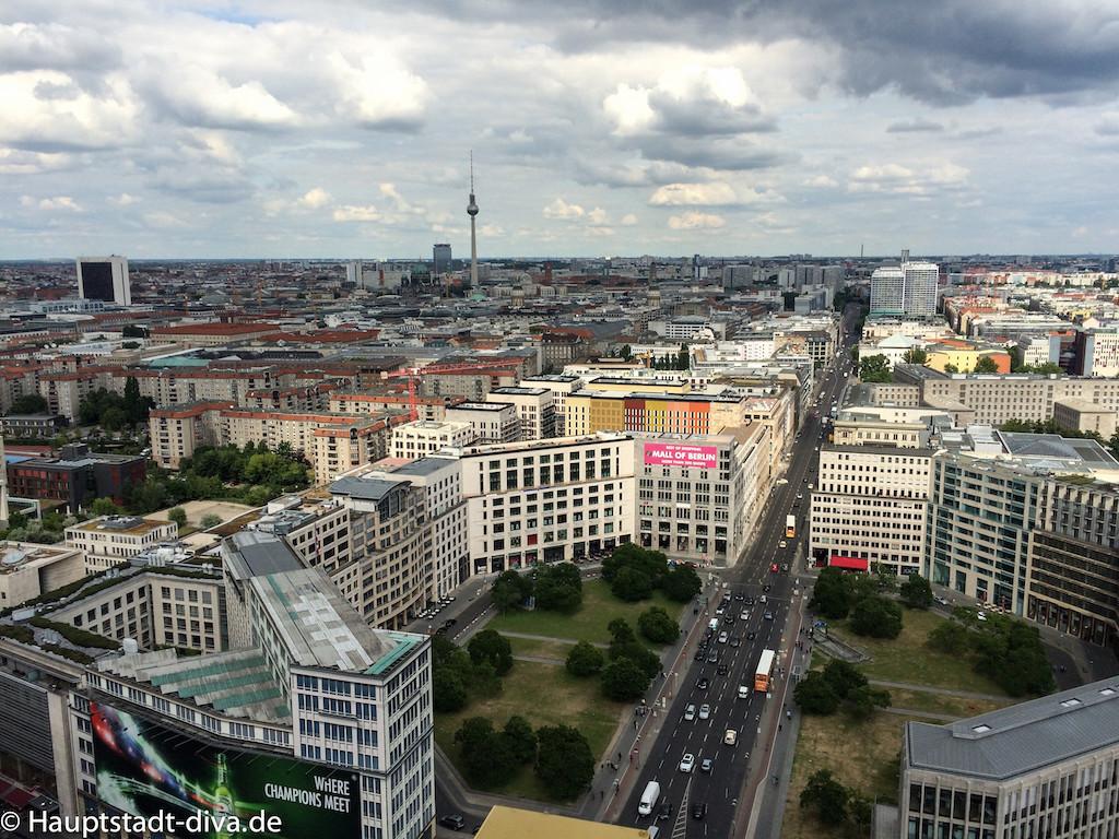 Panorama punkt, Potsdamer platz, Berlin, Aussicht, Kaffee, Kuchen, bitte 8