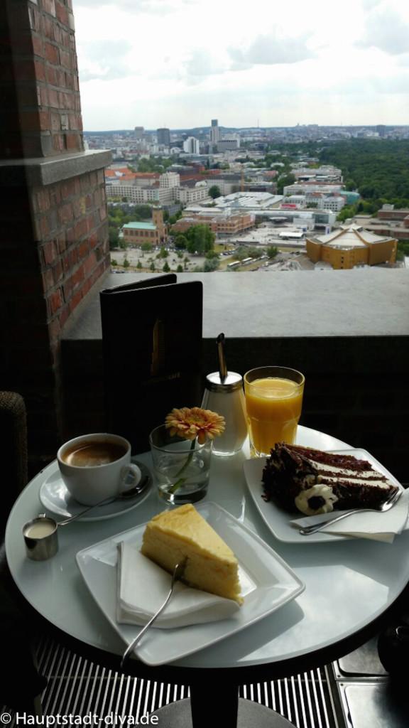 Panorama punkt, Potsdamer platz, Berlin, Aussicht, Kaffee, Kuchen, bitte 1